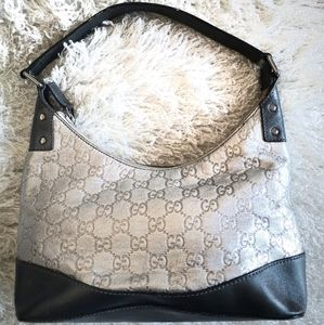 Authentic Gucci vintage silver bag